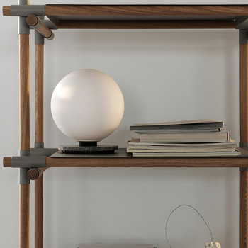 TR Bulb Table/Wall Lamp - Opal/Grey Marble