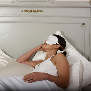 Anti Ageing Lavender Eye Mask - White