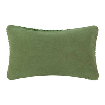 Rope Pillow - Green - 30x50cm