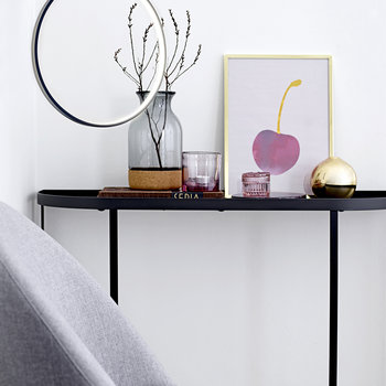 Harper Console Table - Black
