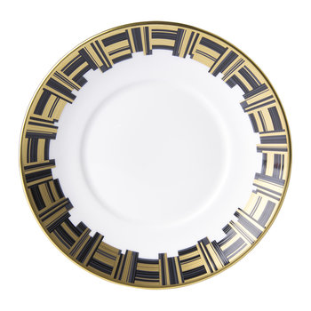 Broadway Saucer - Black/Gold/White