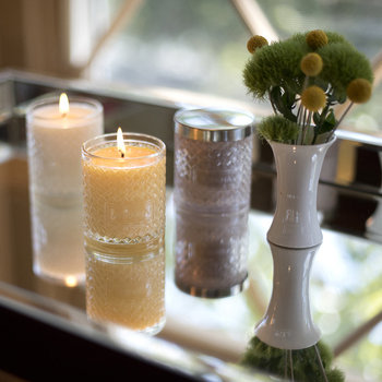 Woven Crystal Candle - Lime & Orange Blossom - Lime & Orange Blossom