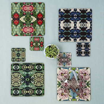 Patch NYC Flora Coaster - Blue Cluster