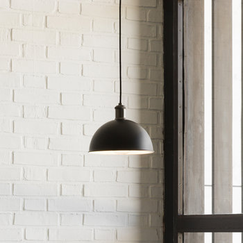 Tribeca Series Hubert Pendant Light - Black