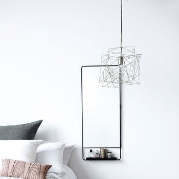 Asymmetric Ceiling Lamp - Gunmetal