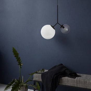 Twice Ceiling Lamp - Black