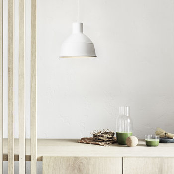 Lampe Suspension Unfold - Blanc