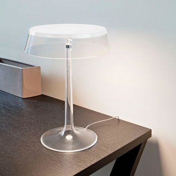 Bon Jour Table Lamp - White