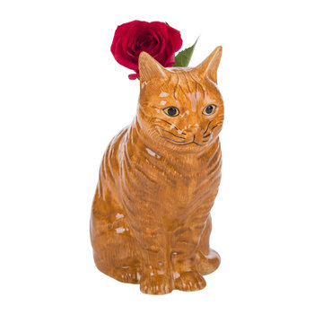 Ceramic Moggy Vase - Vincent