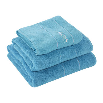 Plain Towel - Blue
