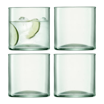 Canopy Tumbler - Set of 4 - Clear