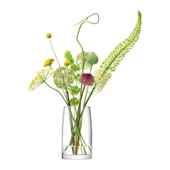 Stems Lantern/Vase - Clear