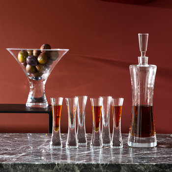 Moya Decanter & Liqueur Glass Set