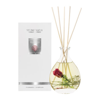 Nature's Gift Reed Diffuser - 200ml - Red Rose