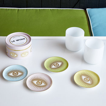 Le Wink Coaster Set - Multi