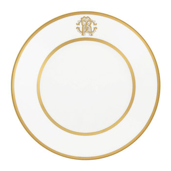 Silk Gold Soup Plate