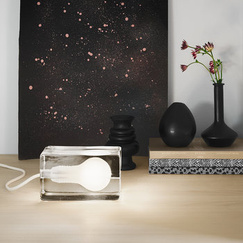 Block Lamp - White