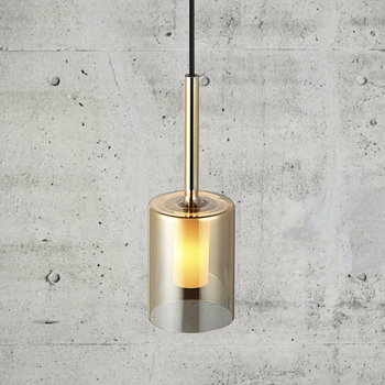 Turid 8 Pendant Light - Amber