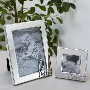 In a Word Photo Frame - Hello - 5x7""