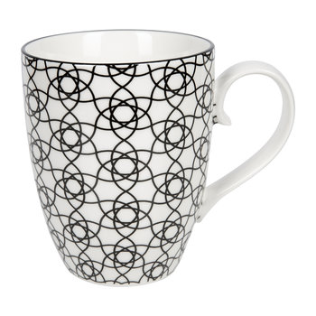 Nippon Black Mug Set - Set of 2 - Dot/Stripe