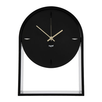 Air Du Temps Clock - Matt Black