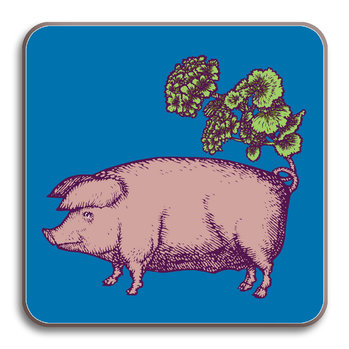 Puddin' Head - Animaux Coaster - Pig