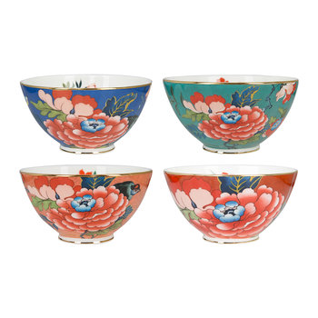 Paeonia Ice Cream Bowls - Set of 4