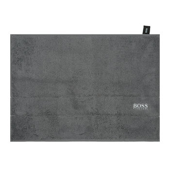 Plain Bath Mat - Graphite