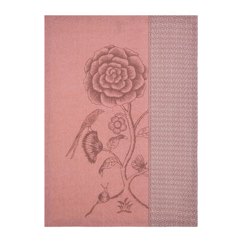 Spring to Life Lacy Tea Towel - Pink