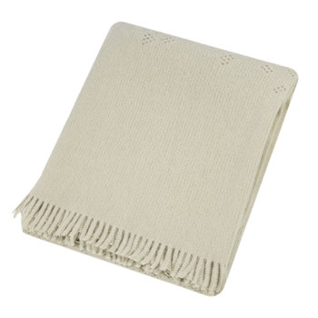 Lace Throw - 130x170 - Linen