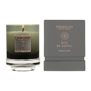 Métallique Collection Tumbler Candle - Bois De Santal