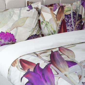 Ripped Flower Bed Set - Pink