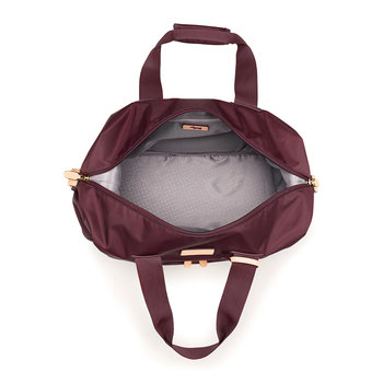 Travel Essentials Holdall - Burgundy