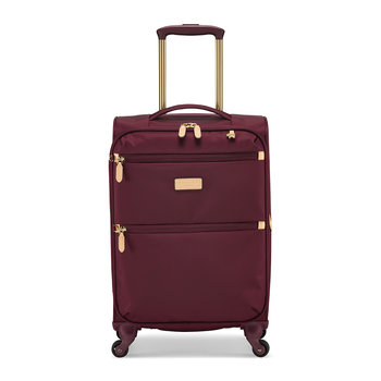 Travel Essentials Suitcase - Burgundy - Small