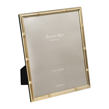 Bamboo Photo Frame - Gold