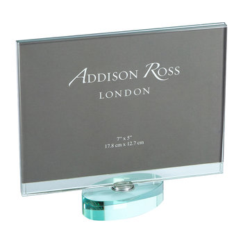 "Rotating Glass Photo Frame - 5x7"" - Landscape"