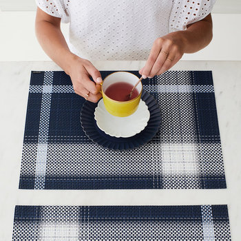 Beam Rectangle Placemat - Midnight