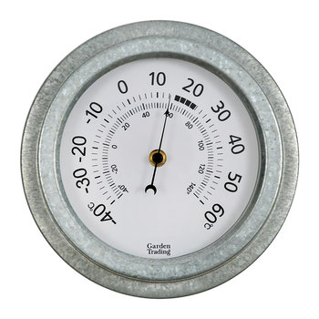 Galvanized Steel St Ives Thermometer