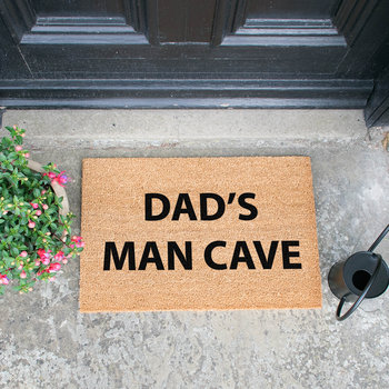 Dad's Man Cave Door Mat