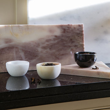 Marble Spice Bowl - 6cm - Pink