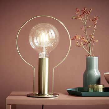 Dean Halo Table Lamp - Brass