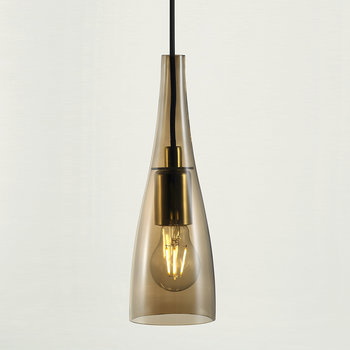 Embla Glass Pendant Light - Amber