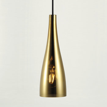 Embla Glass Pendant Light - Gold
