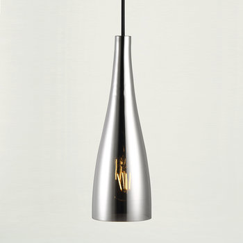 Embla Glass Pendant Light - Silver