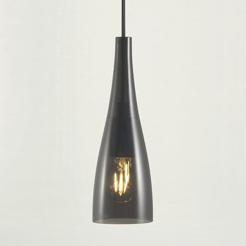 Embla Glass Pendant Light - Smoke