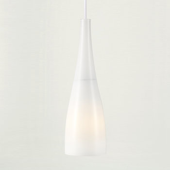 Embla Glass Pendant Light - White