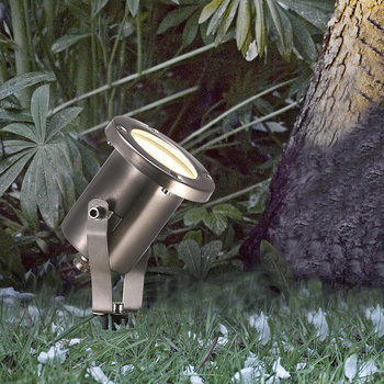 Taurus Stainless Steel Outdoor Spotlight
