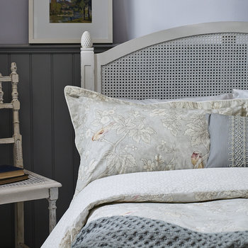 Chiswick Grove Duvet Cover - Silver