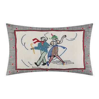 Lambeth Walk Pillow - Rouge - 50x35cm