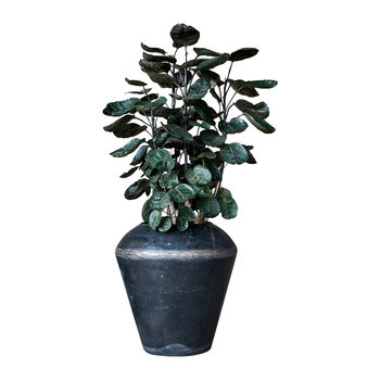 Endo Reclaimed Iron Plant Pot